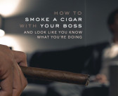 How to Smoke a Cigar With Your Boss
