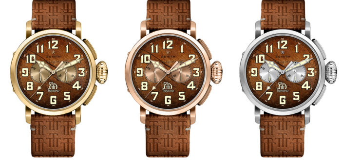 Zenith & Trinidad Celebrate 50th Anniversaries With Limited Watches