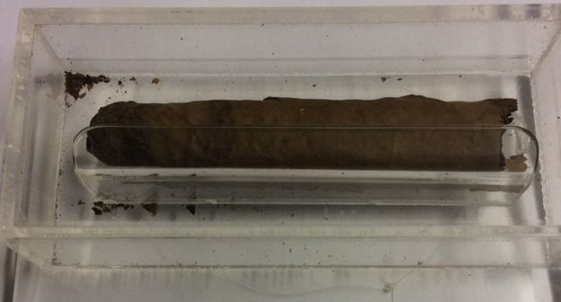 Winston Churchill's Partly-Smoked Cigar Auctioned