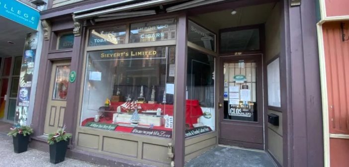 Time Catches up to Halifax Tobacco Shop After 150 years